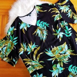 Lauren Ralph Lauren Dresses - Lauren Ralph Lauren Floral Print Plus Size Dress